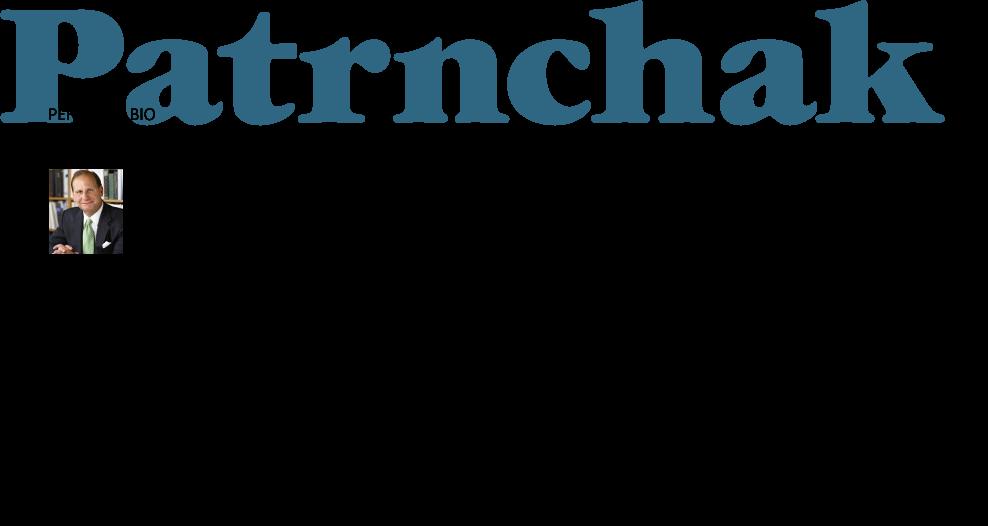Joe Patrnchak Personal Bio